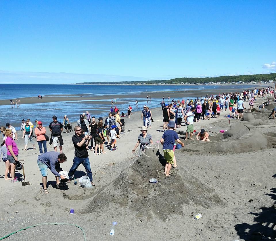 Grand retour du concours de sculpture de sable à Sainte-Luce