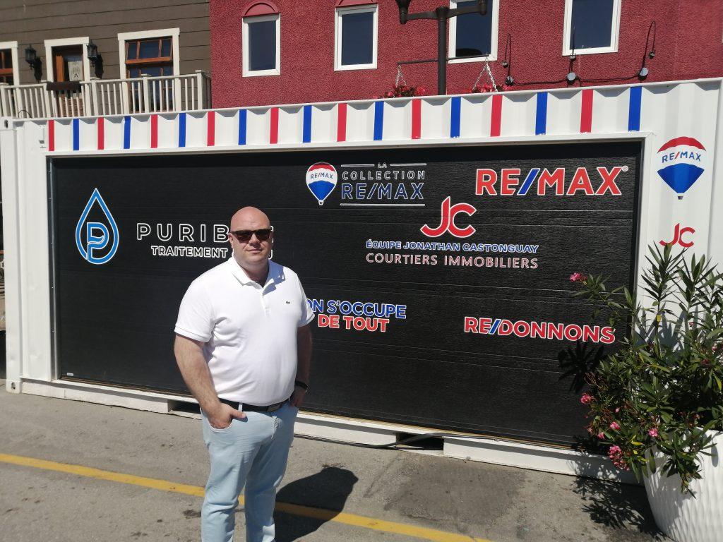 L'équipe Jonathan Castonguay REMAX s'implique aux Terrasses COGECO