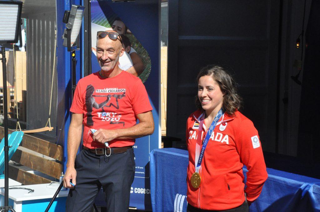 La région honore sa médaillée d'or olympique Maude Charron