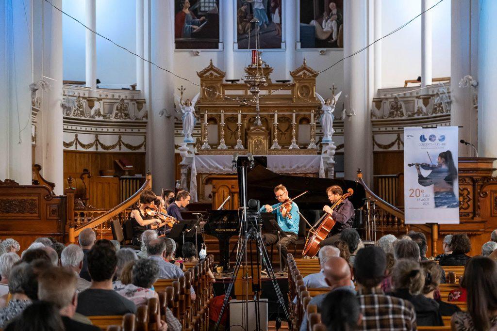 Rediffusion des Concerts aux Îles du Bic sur le Web