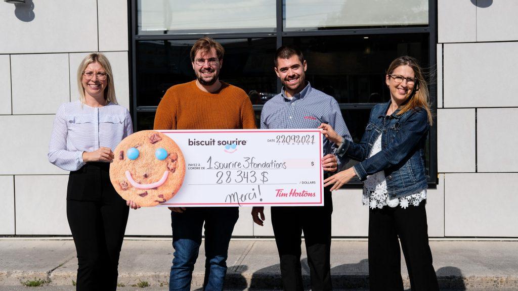 Grand succès pour la campagne « Un sourire, trois Fondations »
