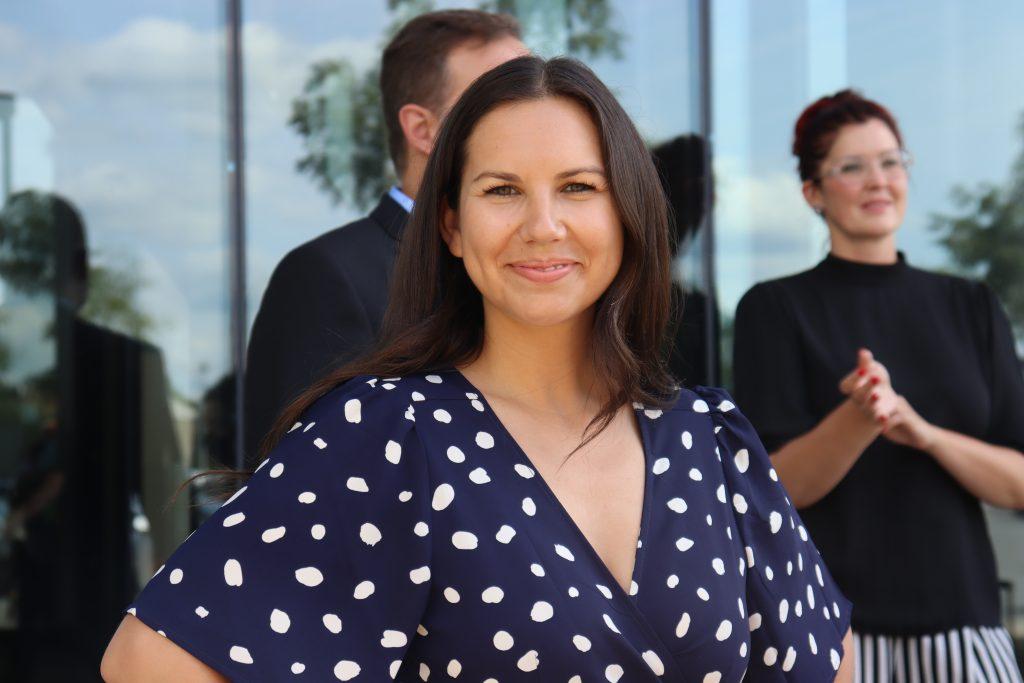 Kristina Michaud prend des engagements sur la mise à niveau des infrastructures