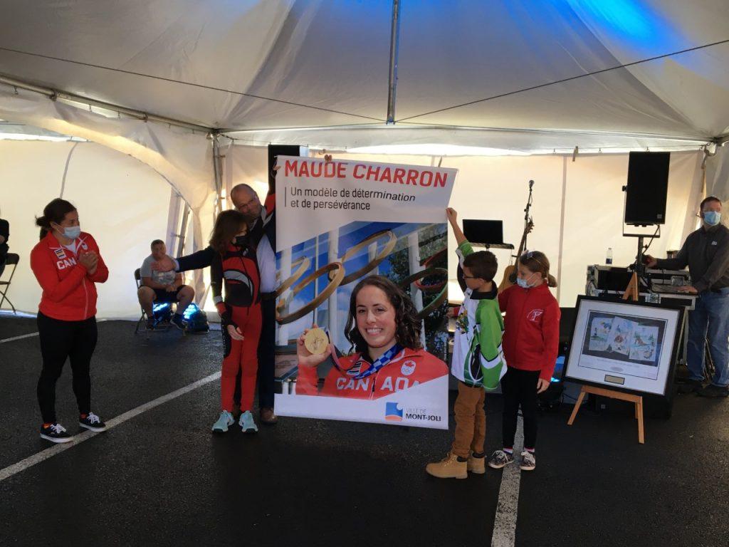 Mont-Joli salue l'accomplissement de Maude Charron